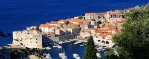 Dubrovnik - befestigter Hafen