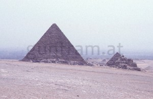 (8) Mykerinos-Pyramide; Gizeh
