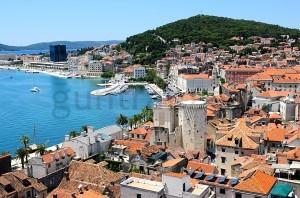 Altstadt von Split; Reste des Diokletian-Palastes